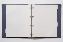 Picture of a binder with blank paper